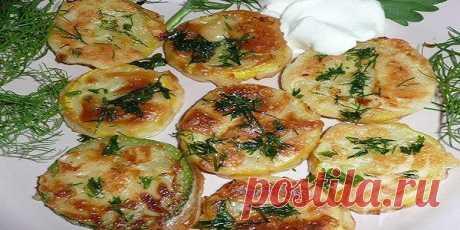 Кабачки в чесночном кляре  Ваши домашние останутся довольны этим блюдом, да так, что попросят добавки!