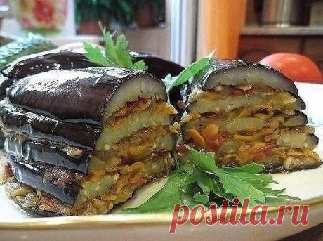 По-турецки Баклажаны - обалденно вкусно и...