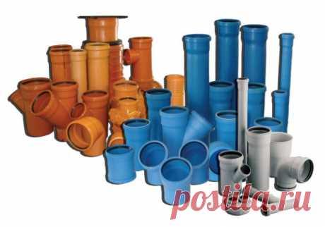 Почему канализационные пластиковые трубы имеют разные цвета?