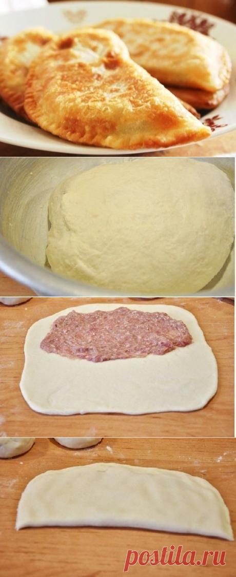 Как приготовить чебуреки с мясом. очень удачное хрусткое тесто! - рецепт, ингредиенты и фотографии