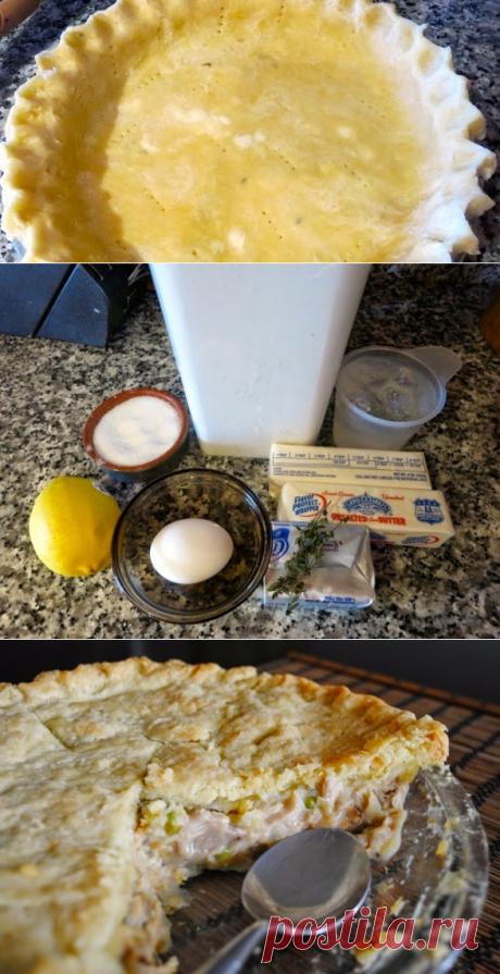 Невыразимая легкость кулинарного бытия...: Тесто-oснова для американских пирогов