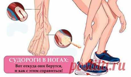 Судороги в ногах: Вот откуда они берутся, и как с этим справиться   Судороги в ногах: Вот откуда они берутся, и как с этим справиться. Наконец-то кто-то объяснил 🤗 Судороги в ногах случаются внезапно и затрагивают ноги, икры и мышцы бедра, пишет Doctor Joe. По сути …