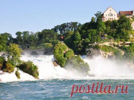 (+1) тема - И снова о Швейцарии. Рейнский водопад. | Непутевые заметки
