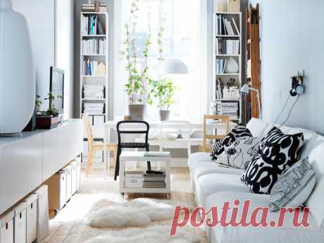 Выбираем мебель для узкой комнаты: 54 хита | Свежие идеи дизайна интерьеров, декора, архитектуры на InMyRoom.ru