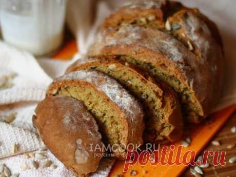 Ржаной хлеб на кефире без дрожжей — рецепт с фото Ароматный хлебушек из ржаной муки с семечками подсолнечника приготовим на кефире в духовке. Домашняя выпечка получается очень вкусной!