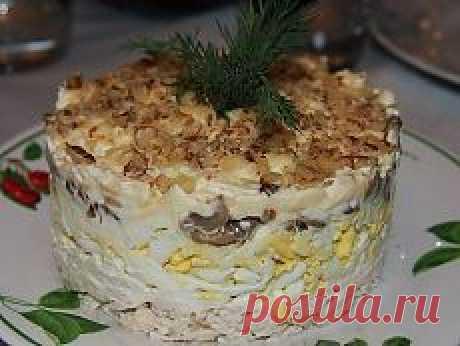 Поиск на Постиле: салаты с грибами