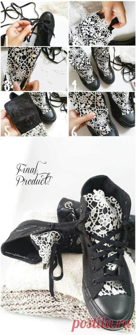 Переделки обуви своими руками(3diy) Модная одежда и дизайн интерьера своими руками