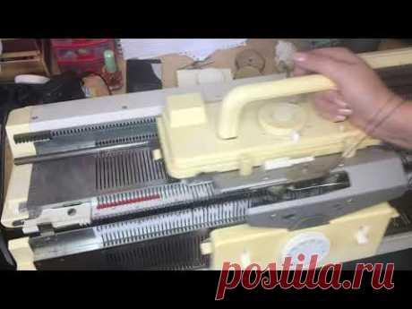 V-образная горловина одной деталью/машинное вязание/кетлевка v-образной горловины