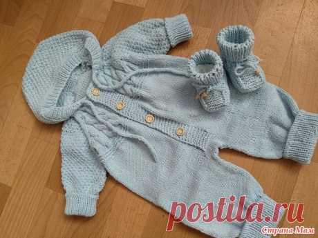 комбинезончики для малыша - Вязание для детей - Страна Мам