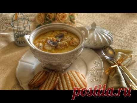 СЛИВОЧНО-СЫРНЫЙ Суп 😍 какой он вкусный, вам 100% понравится , идея на первое для ИФТАРА 👍