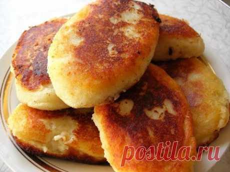 Картофельные пирожки - рецепт от Светлана - кулинарный рецепт. Миллион Меню
