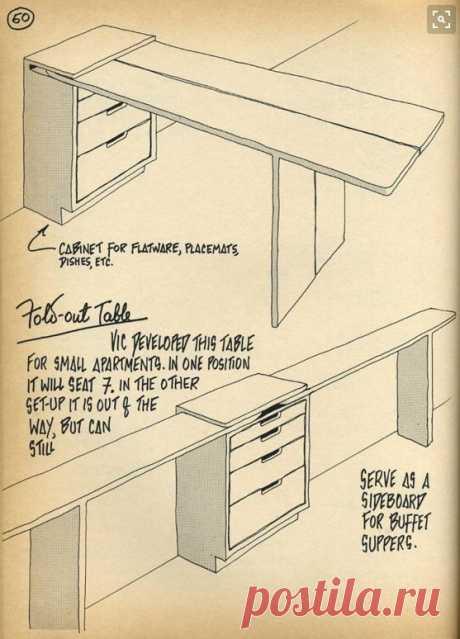 Раскроечный стол для квартиры