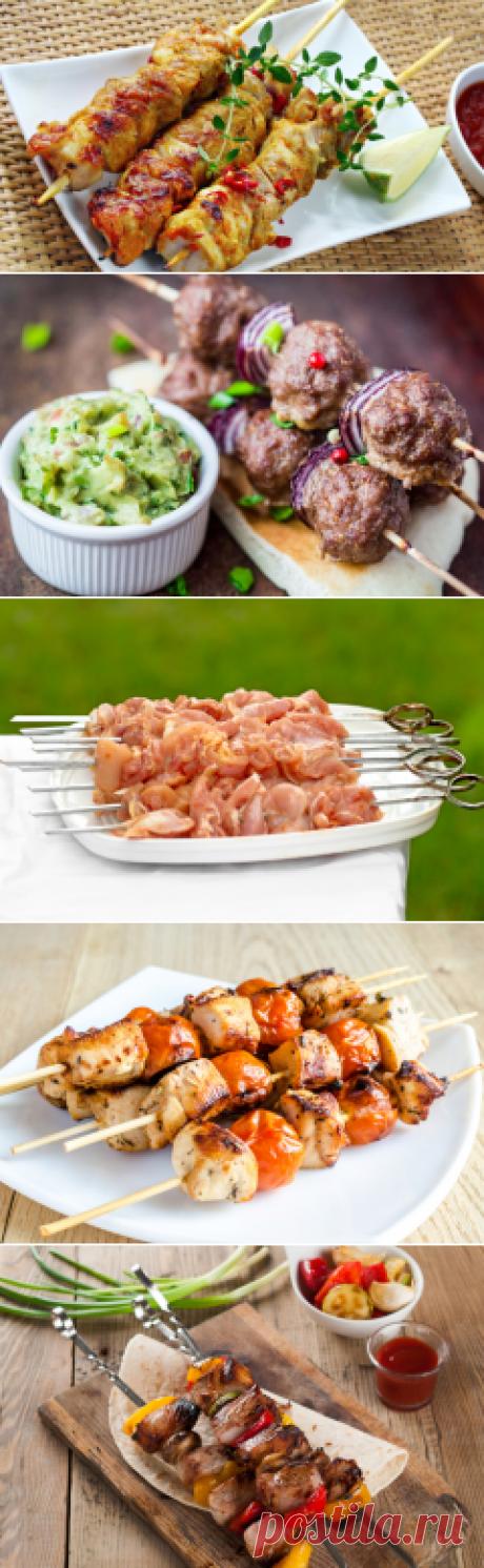 Как приготовить диетический шашлык в домашних условиях? | Еда и кулинария