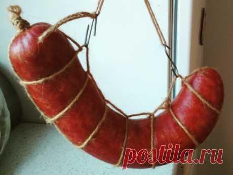 Рецепт вкусной колбасы, по которому готовили в времена СССР » Кулинарный сайт