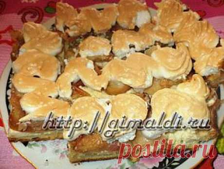 Творожно-яблочный пирог | ДЕЛА ЖИТЕЙСКИЕ...