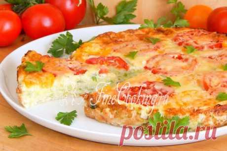 Кабачковая пицца - просто и безумно вкусно.
