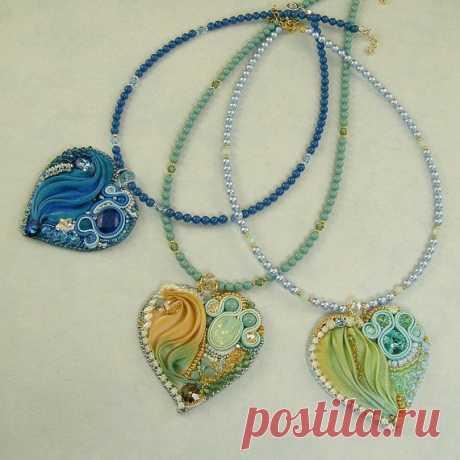 Шибори - ожерелья и кулоны, мастер-класс