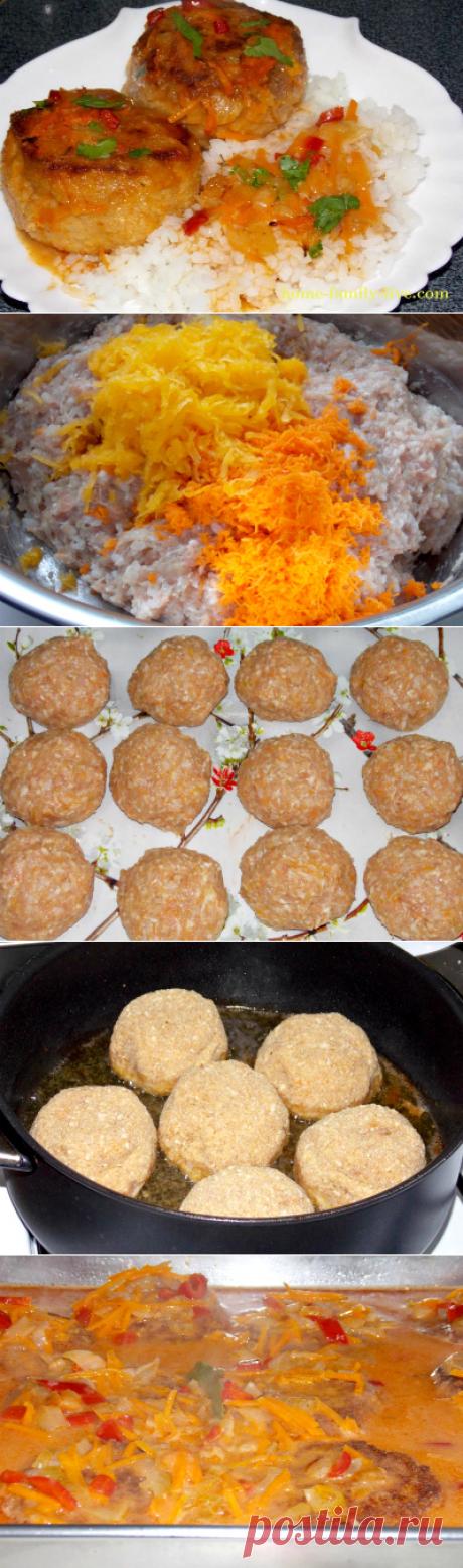 Quien quiere preparar las albóndigas en el horno\/sitio con poshagovymi por las recetas de la foto para aquellos