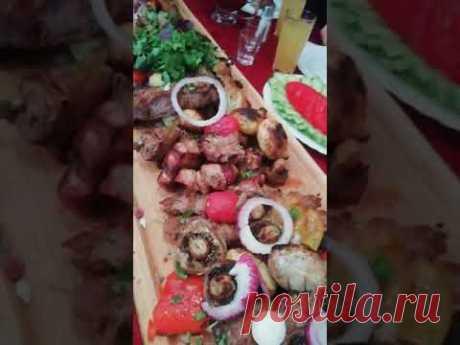 Мясное и овощное ассорти!