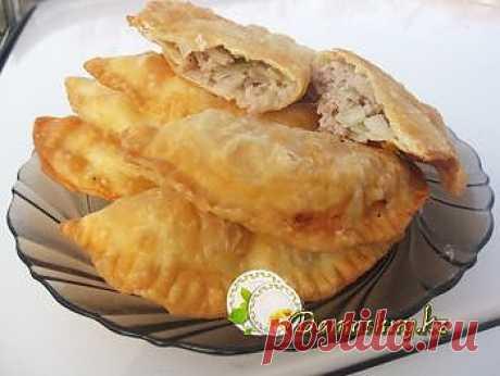 Блог кулинарии и домоводства : Выпечка, пирожки, чебуреки : Чебуреки с водкой