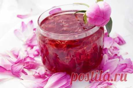 Варенье из лепестков пиона: рецепт