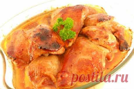 Куриные окорочка, запеченные в соевом соусе — ХОЗЯЮШКА