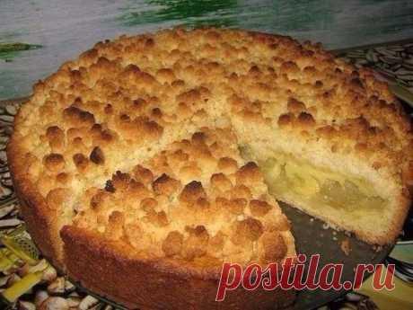 Царский яблочный пирог - Простые рецепты Овкусе.ру