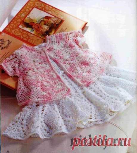 Платье и кокетка