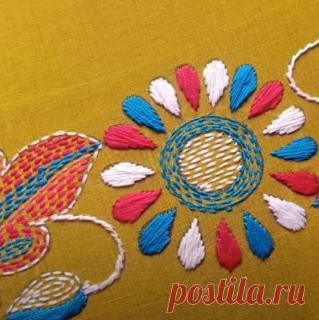 Как сделать вышивку в традиционном азиатском стиле