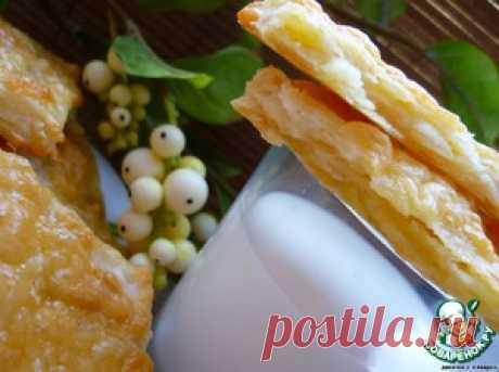 """Слойки картофельные с сыром """"Я вкусная"""" - кулинарный рецепт"""