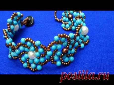 Оригинальный браслет-очень просто. Beaded bracelet is very simple. سوار مطرز بسيط جدا