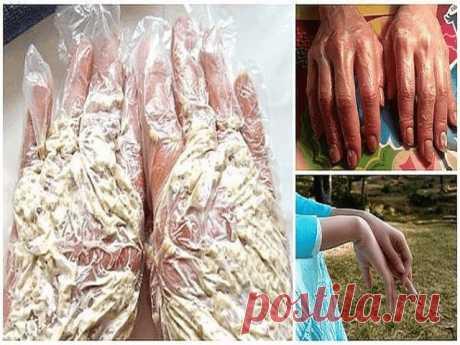 """Секретный трюк для идеальной кожи рук: омолаживающая """"каша"""" из 3 ингредиентов!"""