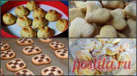 Детское печенье своими руками — 4 великолепных рецепта