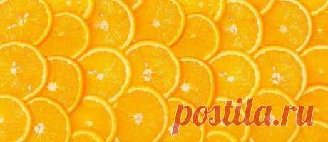 Скачать изображение апельсин слайсы на кухонный фартук скинали.
