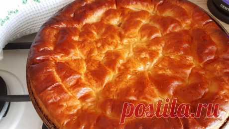 Пеку пышный сдобный пирог с повидлом: самый проверенный рецепт | Кулинарные размышления | Яндекс Дзен