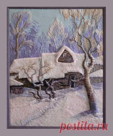 Картины из меха и трикотажа Елены Шмелёвой