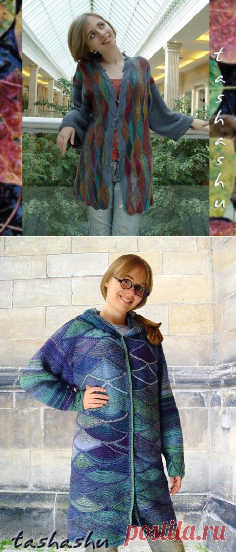 Колоритные жакеты в стиле печворк Светланы Гордон — Рукоделие
