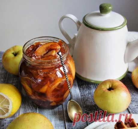 Яблочное варенье, новый рецепт. И соус из яблок и слив к мясу. Неожиданные заготовки из яблок Заготовки из яблок и слив. Не едите варенье – закрывайте соус на зиму!