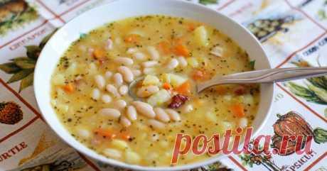ТОП-5 супов с фасолью