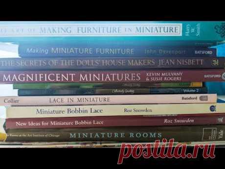 Обзор книг и журналов по кукольной миниатюре.