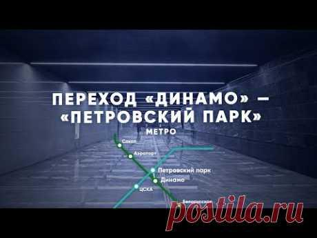 От станции «Динамо» до «Петровского парка» за 2 минуты — Комплекс градостроительной политики и строительства города Москвы