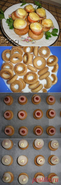 Как приготовить сушки на завтрак - рецепт, ингридиенты и фотографии
