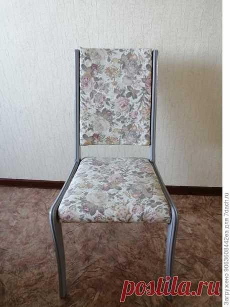 Реставрация старого стула своими руками. Пошаговый мастер-класс с фото