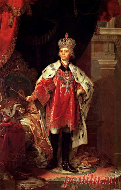 Братья. Павел I — первый царственный масон