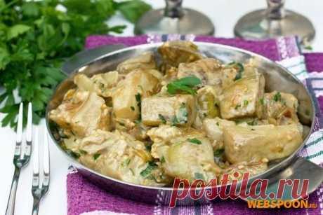 Баклажаны со вкусом грибов с фото | Рецепт баклажанов с грибным кубиком на Webspoon.ru