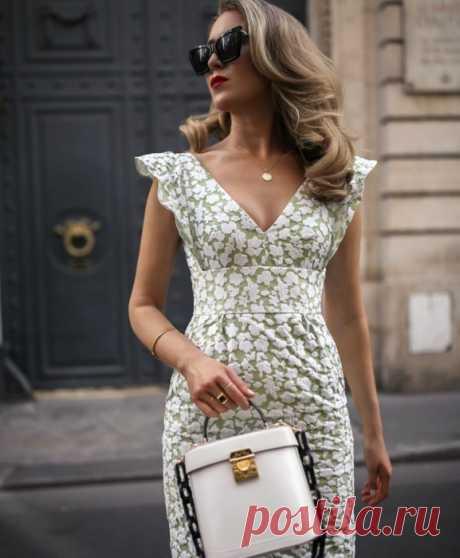 Элегантное летнее платье - все размеры выкройки / Простые выкройки / ВТОРАЯ УЛИЦА