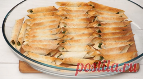 Чипсы из лаваша с начинкой — Кулинарная книга - рецепты с фото