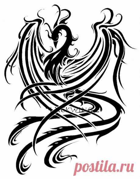 Феникс - птица легенда