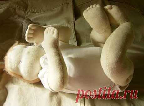 Вальдорфская Кукла  (грудничок) Выкройка