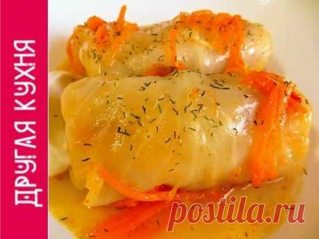 The best home-made stuffed cabbage with smoked products. Best homemade cabbage rolls with smoked meat